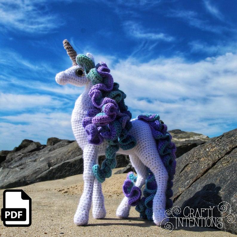 Lelia Standing Unicorn by CraftyIntentions