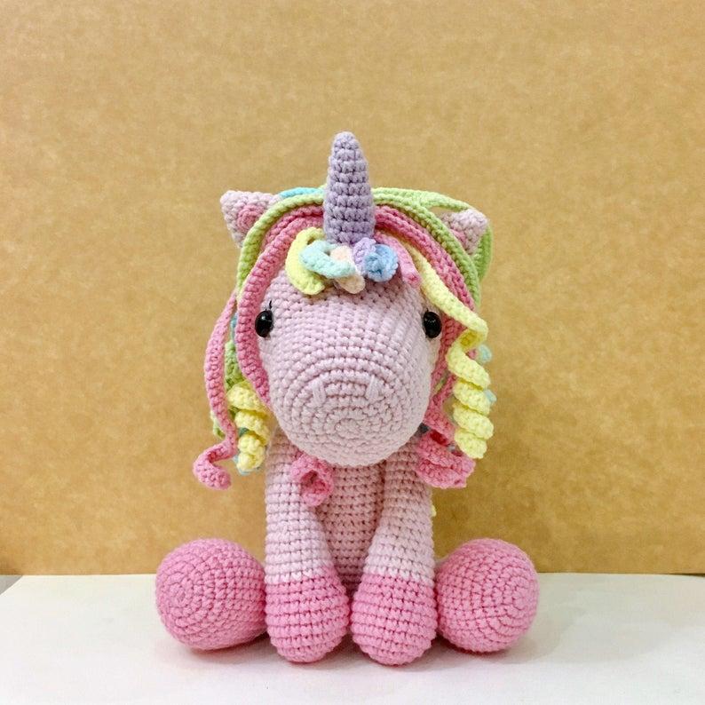 Lelia My Girly Unicorn Amigurumi by MyGirlyUnicorn